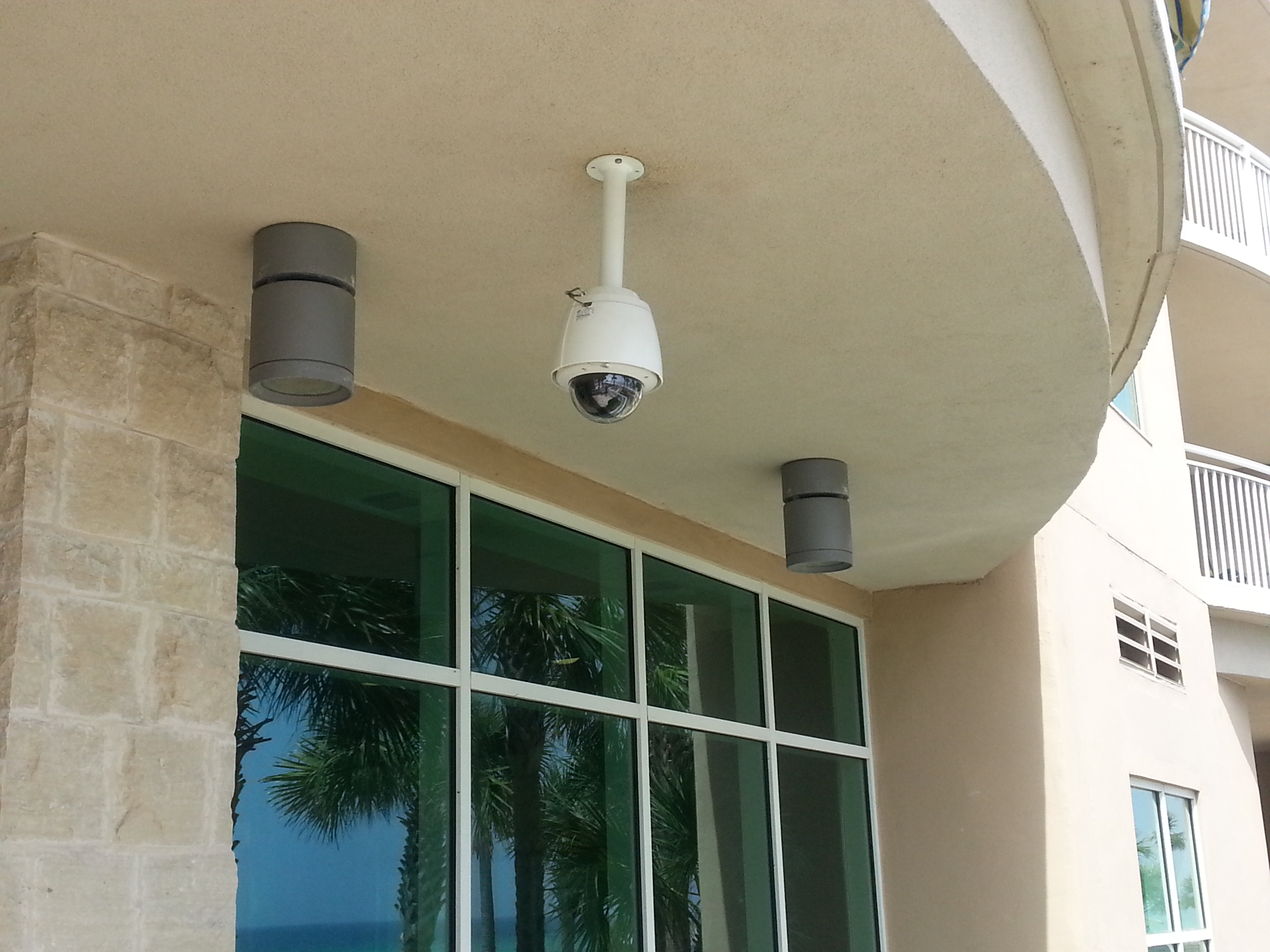 panama city beach ptz security camera